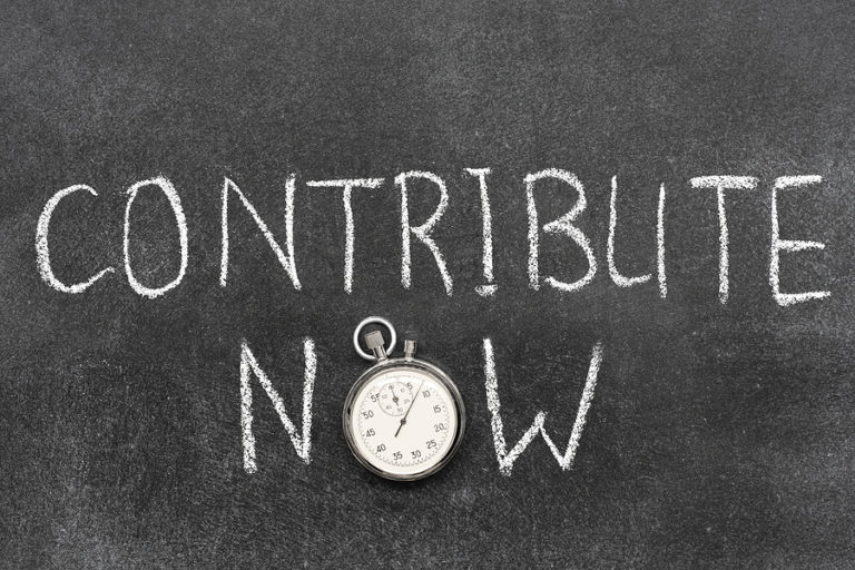 timing of contributions